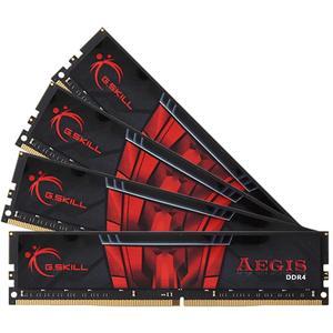 Μνήμη G.Skill Aegis 64GB (4x16GB) DDR4-2400MHz (F4-2400C15Q-64GIS)