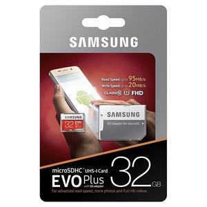 Κάρτα Μνήμης Samsung Evo Plus microSDHC 32GB U1 with Adapter