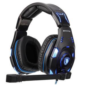 Gaming Headset Sades Knight Pro Blue