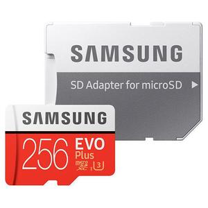 Κάρτα Μνήμης Samsung Evo Plus microSDXC 256GB U3 with Adapter