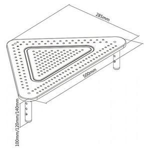 Επιτραπέζια Βάση Monitor Brateck STB-083