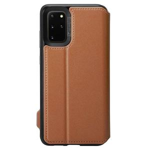 Θήκη Spigen® Ciel Wallet Brick Saddle Brown - Galaxy S20+ (ACS00774)
