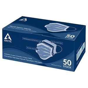 Arctic 3-Layer Nose and Mouth Mask 50 pcs (AOMIS00007A)