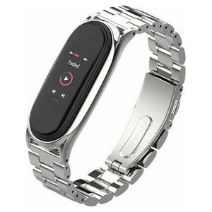 Tech-Protect Stainless Band Silver - Xiaomi Mi Band 5