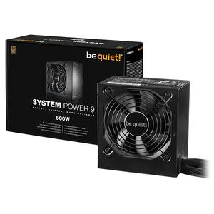 Be Quiet! System Power 9 600W (BN247)