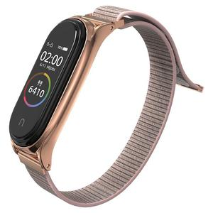Tech-Protect Sport Nylon Loop Rose Gold - Xiaomi Mi Band 5