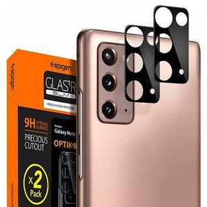 Tempered Glass Spigen® GLAS.tR Slim Optik Camera Lens Black (x2) - Galaxy Note 20 (AGL01455)