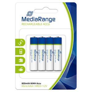 Επαναφορτιζόμενες Μπαταρίες MediaRange MRBAT120 AAA (x4)