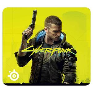 Gaming Mouse Pad SteelSeries QcK CyberPunk 2077 Large (63407)