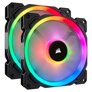 Corsair LL140 RGB LED PWM (2-Pack) with Lighting Node PRO (CO-9050074-WW)