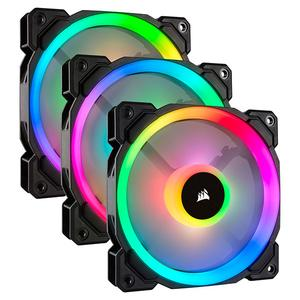 Corsair LL120 RGB LED PWM (3-Pack) with Lighting Node PRO (CO-9050072-WW)
