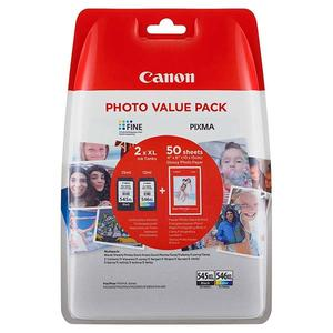 Canon Photo Value Pack PG-545XL & CL-546XL & 50xGP-501 (8286B006)