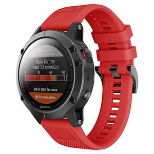 Tech-Protect Sport Smooth Band Red - Garmin Fenix (22mm)