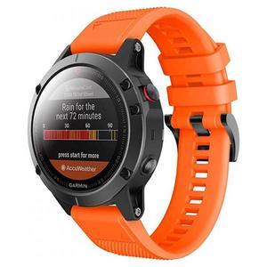 Tech-Protect Sport Smooth Band Orange - Garmin Fenix (22mm)