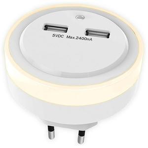 Φωτιστικό Ασφαλείας Sonora Ring Light 2x USB (230-0064)